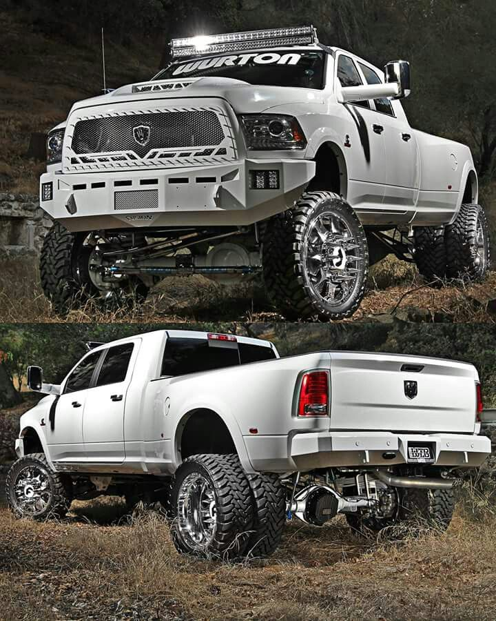 Lifted truck More