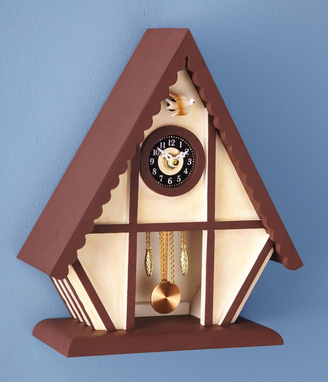 Chalet cuckoo clock plan scroll saw projects pinterest chalets products and clock - Cuckoo clock plans ...