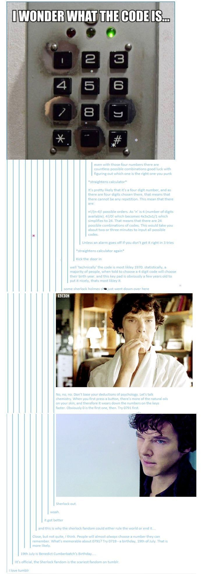 Sherlock Voice Look At You Lot You Re All So Vacant