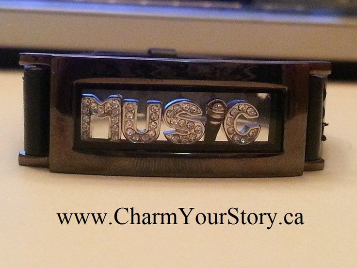 I love music!  Wear what YOU love, create your personalized locket at www.charmyourstory.ca   #Jewelry #Gifts #Style #GetTheLook #CharmYourStory
