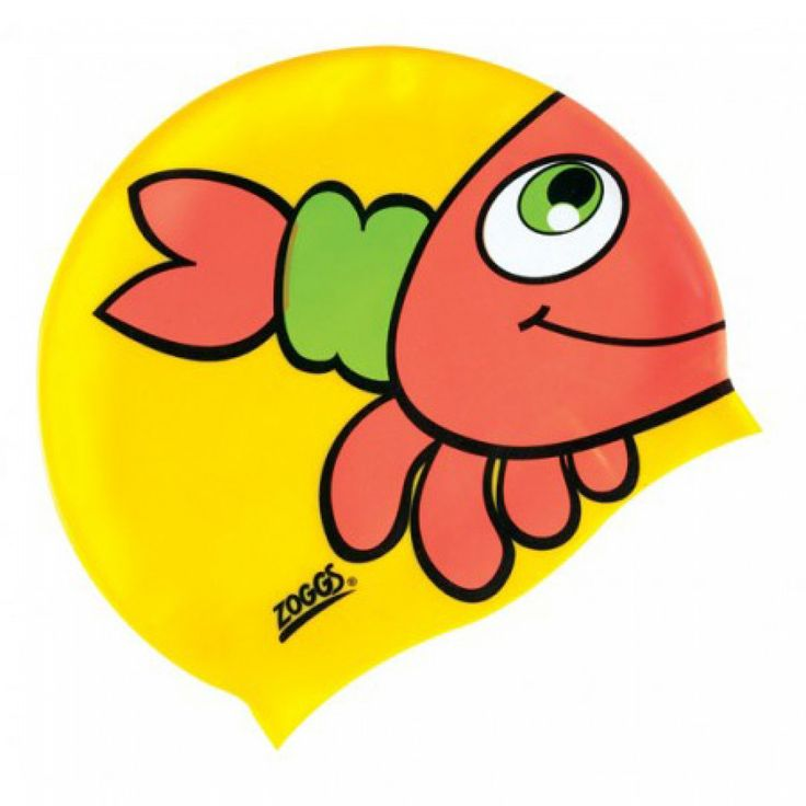 Silicone Children's Character Swimming Cap - Crab