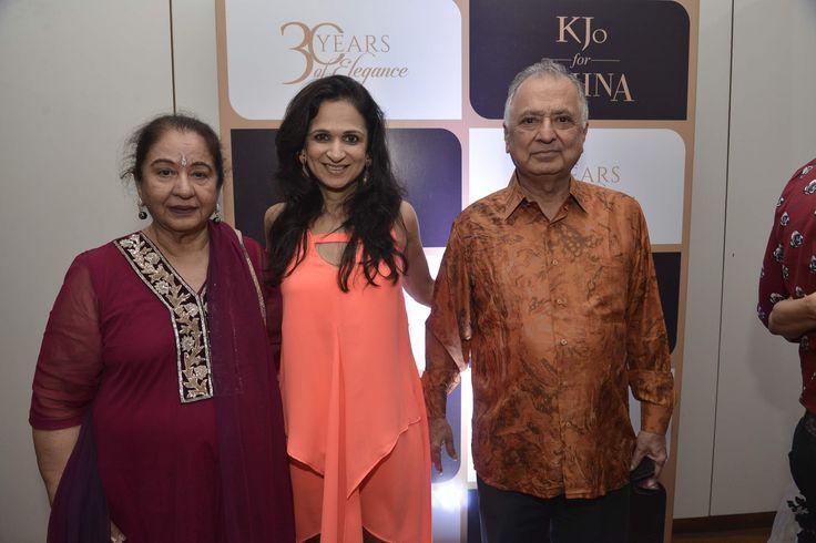 Geeta Rupani, Reena Rupani and Nainik Rupani #GehnaTurns30 #KjoForGehna #Bollywood #Celebrities #Jewellery