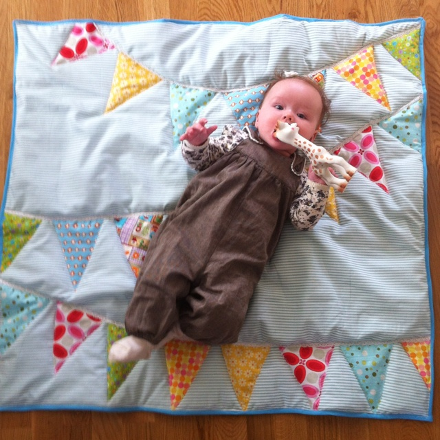 Quilt for Anna: My first (and hers)