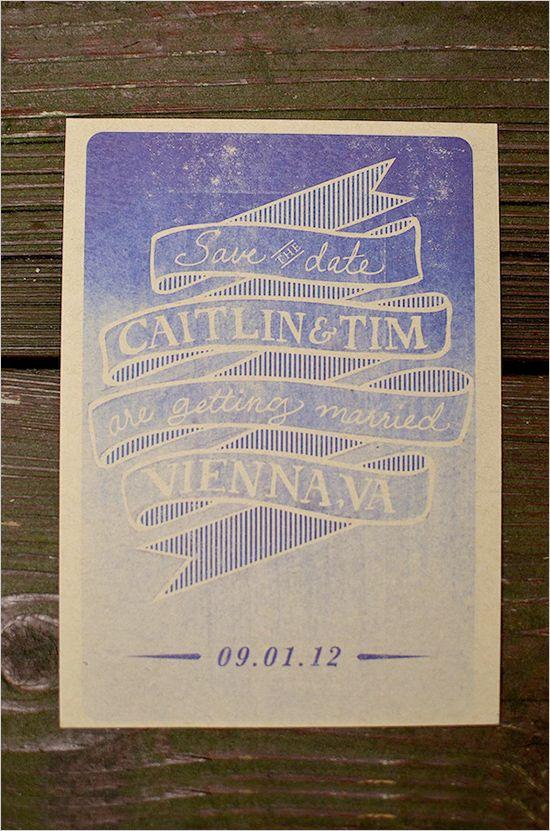 Kraft Paper Wedding Invitations