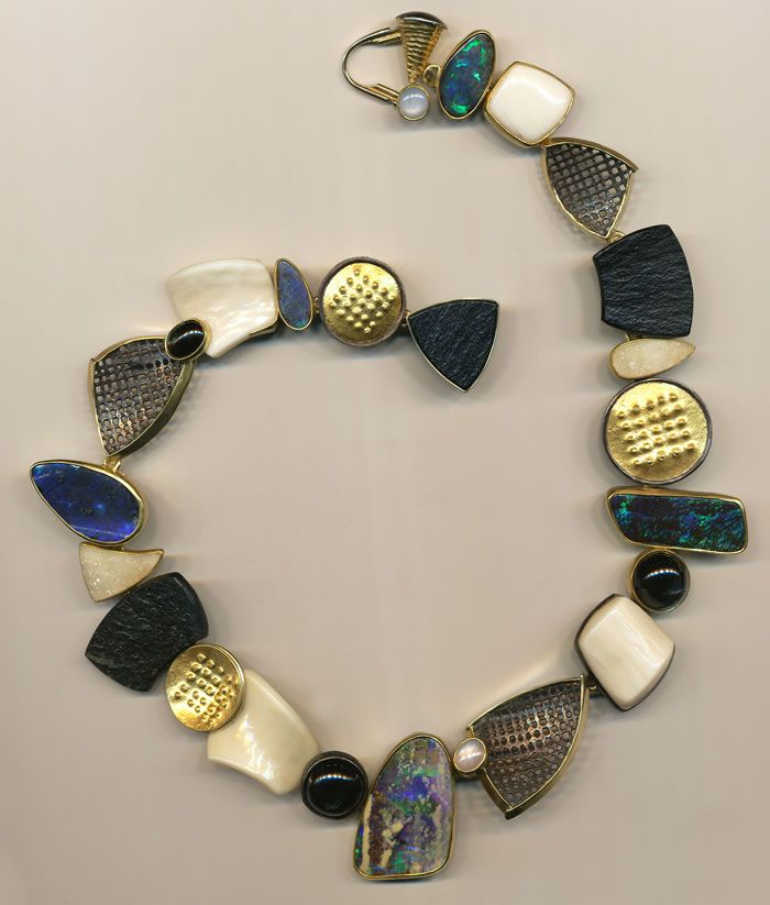 Jeff and Susan Wise :: Necklaces & Pendants..this is different and would be great with jeans or a suit...