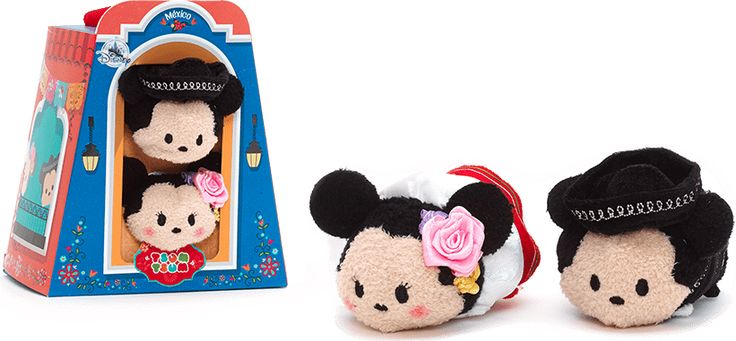 Mickey and Minnie Mouse Mexico Themed Tsum Tsum Box Set