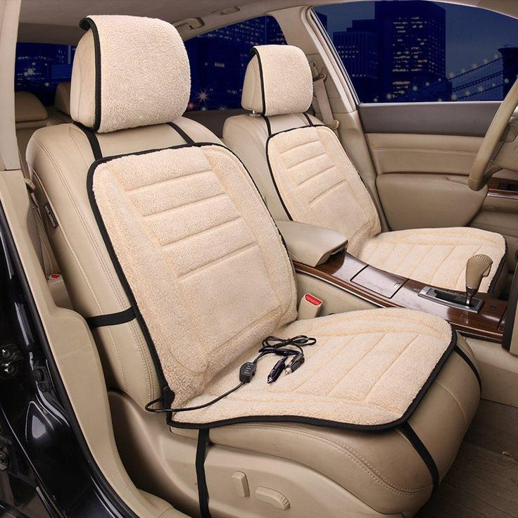 Extremely Cozy And Comfortable For Winter Single Heated Seat Covers  Car seats, Car seat