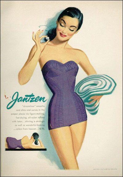 Coilhouse » Blog Archive » Vintage Jantzen: The Pin-Up Powerhouse