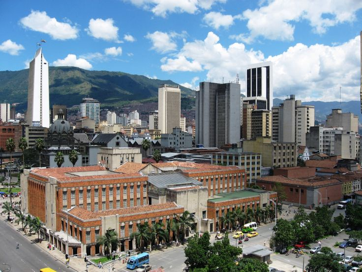 Medellin is one of Colombia's modern metropolis