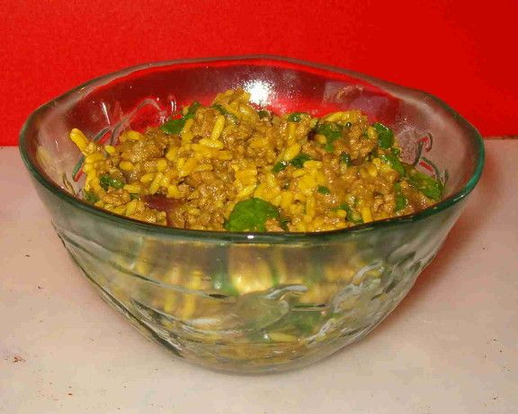 I adapted this recipe from various ones Ive tried in the past that I found were never quite right.  Its not entirely authentic, but it works with what I have in the kitchen, and my husband loves it.  This is an easy to make, one-skillet dinner, great for after work.  Serve either with rice, chappatis or naan.