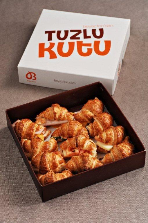 Tuzlu kutu-croissant