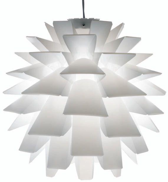 artichoke pendant light :D beautiful!