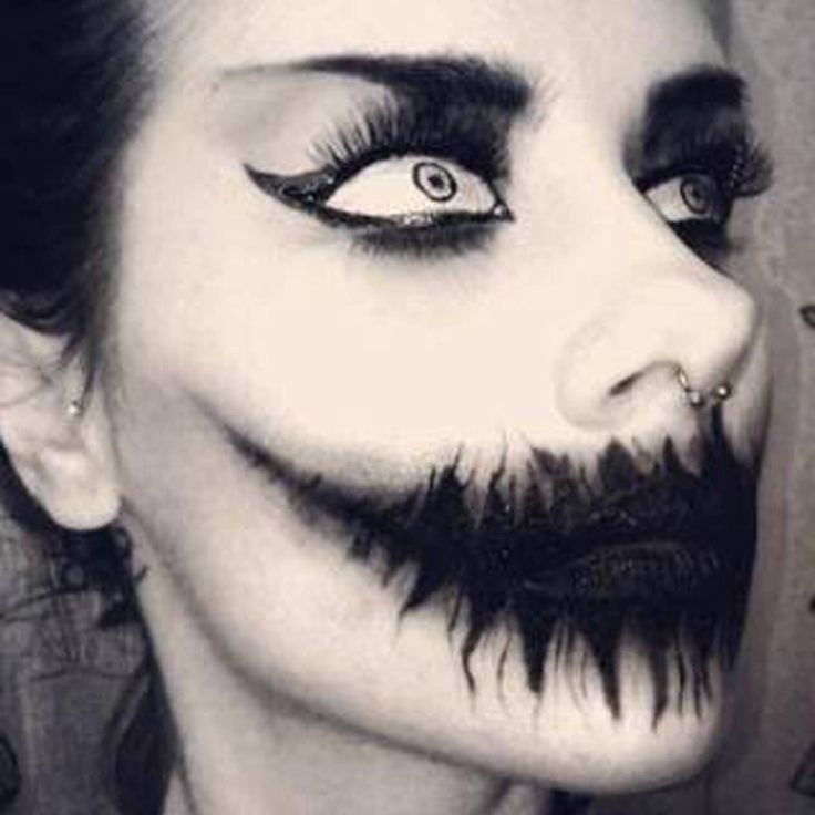 Creepy Scary Halloween Makeup.Spooky Makeup Images Reverse Search