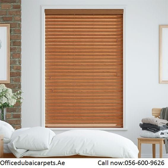At Officedubaicarpets Ae We Provide The Best Quality Venetianwoodblinds Call Now 056 600 9626 Email Us Sales Offi Wood Blinds Blinds Wooden Window Blinds Ain wooden window room window