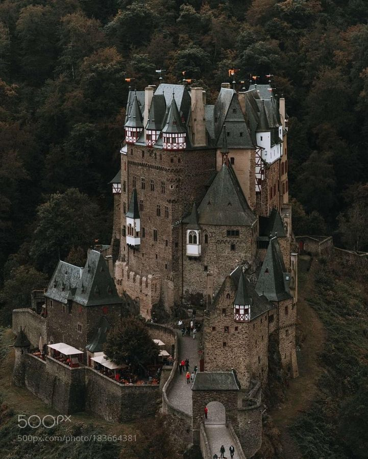 Captured near to Courtyard Cologne. Eltz Castle is one of the places that seem to be out of this... by regnumsaturni