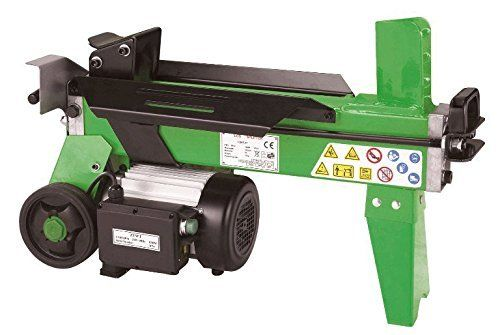 Introducing the Handy 4 ton log splitter, designed to take the hard work out of splitting logs.   The machine is used horizontally, but has good size wheels at one end to ease transporting it around.
