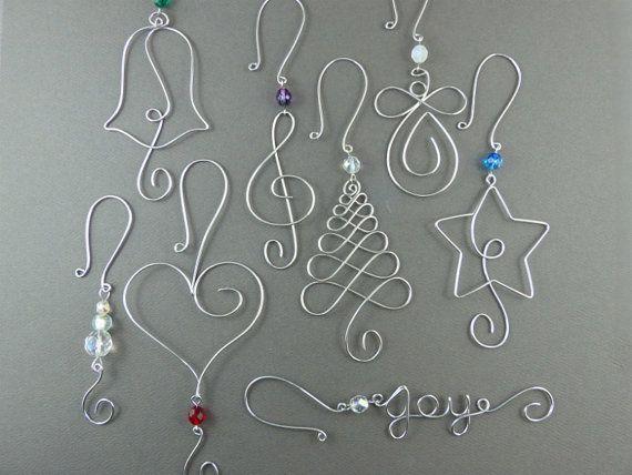 25 unique Wire ornaments ideas on Pinterest  DIY aluminum