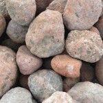 Sandstone river rocks