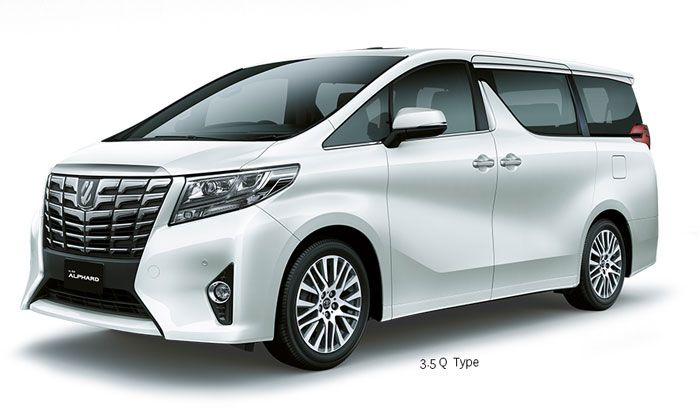 Toyota Alphard 3,5Q - Side Front view - First Class Comfort for The Family - AUTO2000