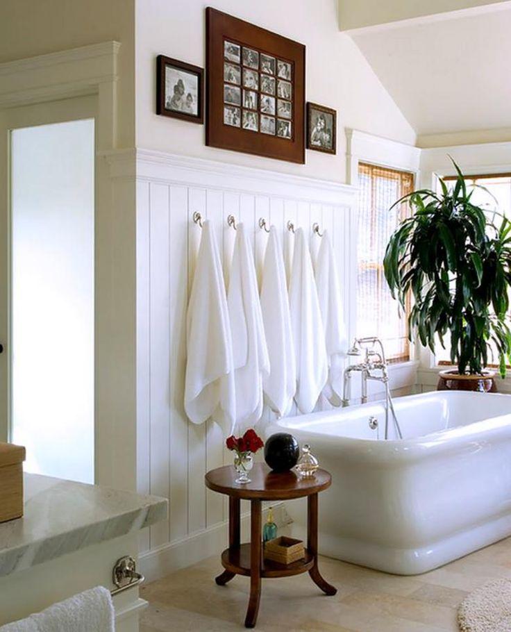 Best 25+ Bathroom Towel Display Ideas On Pinterest