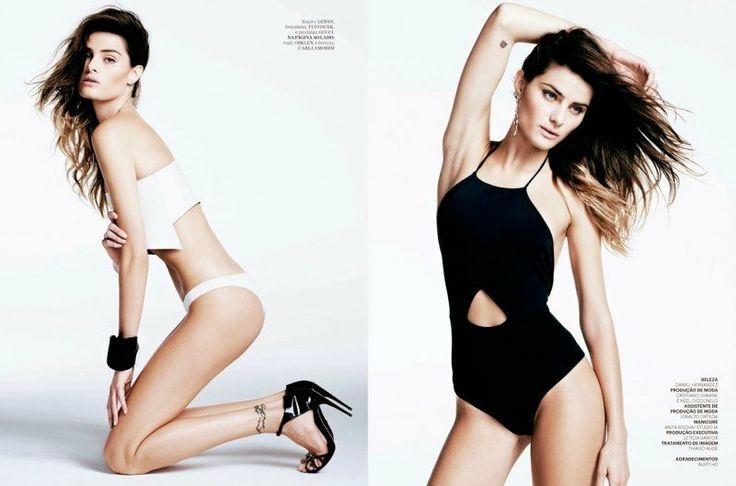 Isabeli Fontana is Riviera Chic for Iguatemi Magazine
