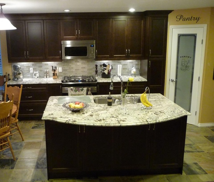 Pictures Of White Kitchen Cabinets With Granite Countertops: 59 Best Alaskan White Granite Images On Pinterest