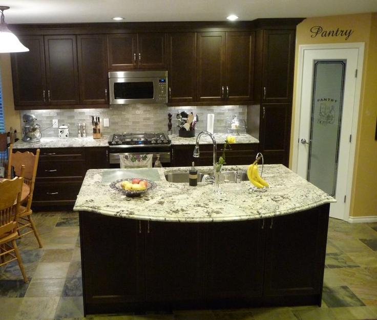 Kitchen Cabinet Granite: 59 Best Alaskan White Granite Images On Pinterest