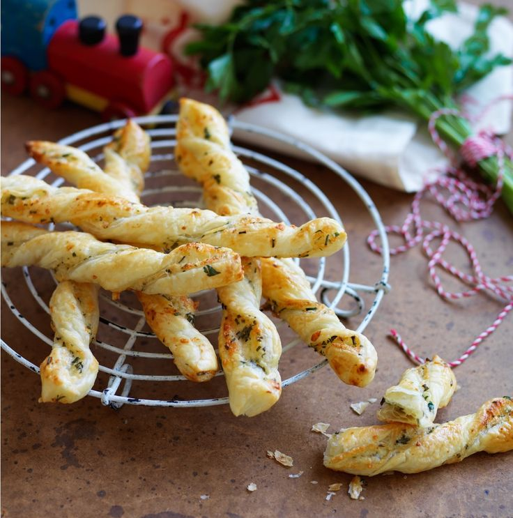 Recipes | Herb Cheese Twists | Louise Fulton Keats