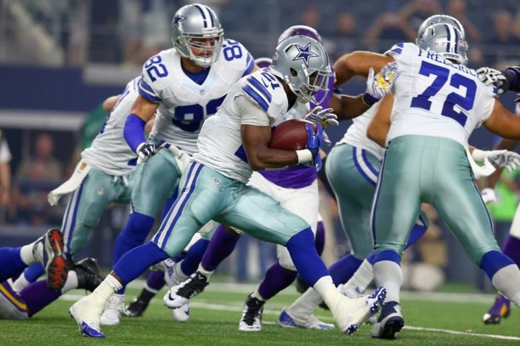 Is Cowboys RB Joseph Randle worth starting? - The Washington Post - (Photo: Joseph Randle, Darren McFadden, Lance Dunbar and newly acquired Christine Michael all figure to be in the mix for carries. - Tom Pennington/Getty Images) - September 13, 2015