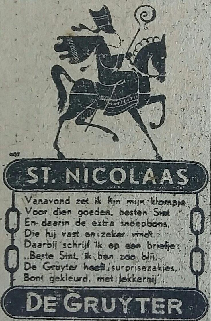 De Grutter,  advertentie 1942