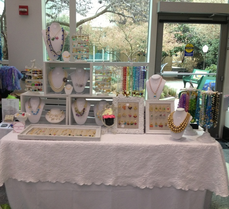 My small display at the UNC Hospital Show