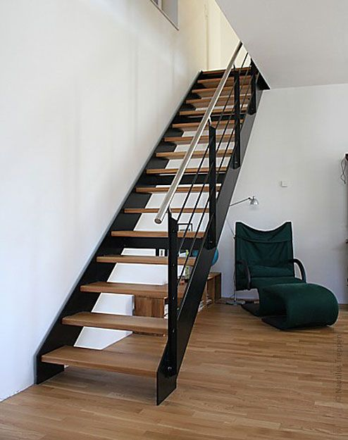ber ideen zu stahlwangentreppe auf pinterest anbau obergeschoss offene treppe und. Black Bedroom Furniture Sets. Home Design Ideas