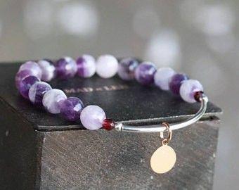 bracelet pierre naturelle, bracelet woman jewelry, bracelet pierre femme, bracelet lithotherapie, gemstones jewelry, natural stone bracelet, bracelet pierre semi précieuse, healing stones, bracelet amethyste, bracelet jonc argent,