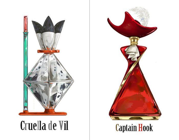 Os perfumes dos vilões da Disney