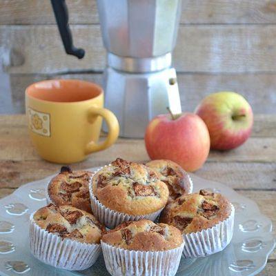 Muffiny z jabłkiem i cynamonem (autor: mufinka79) - DoradcaSmaku.pl