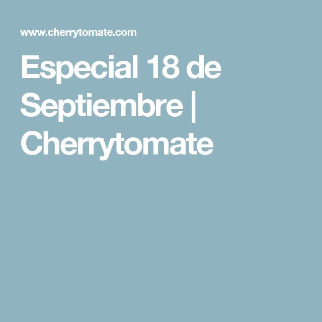 Especial 18 de Septiembre   Cherrytomate