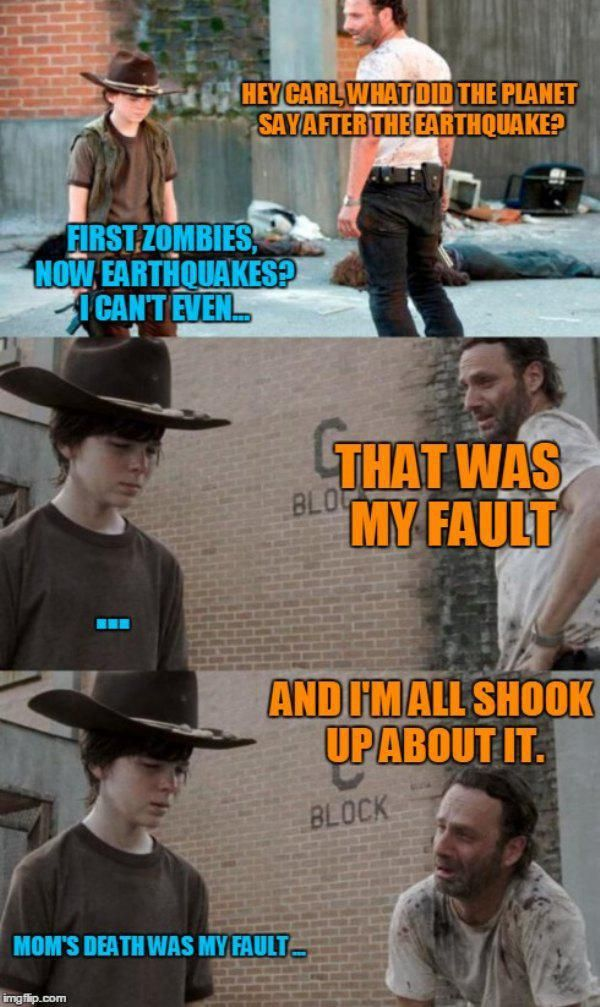 31 of the best dad jokes told by Walking Dead's Rick Grimes : theCHIVE