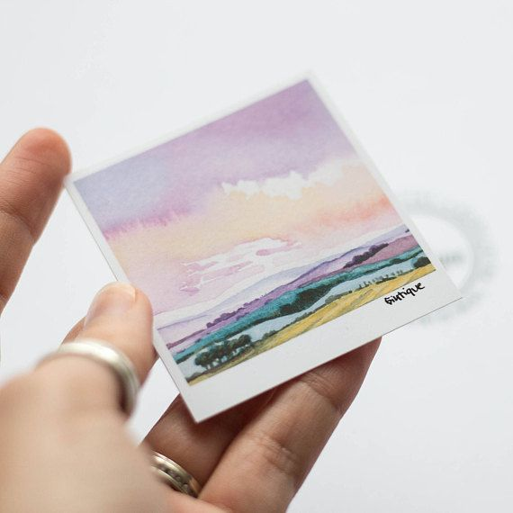 Laptop Sticker Landscape Vinyl Cute Landscape Sticker Cute
