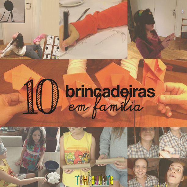 O último post da retrospectiva 2014 traz as 10 melhores brincadeiras em família do Tempojunto.com