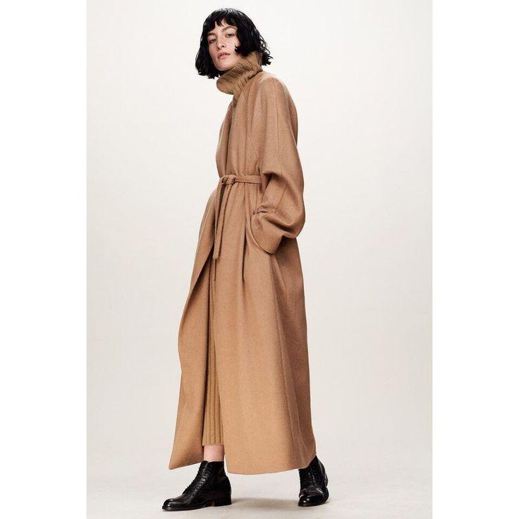 """Купить Пальто """"Robe de chambre"""" - пальто, Бежевое пальто, пальто-халат, длинное пальто"""