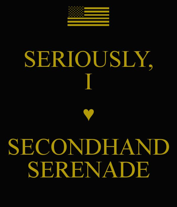 4-Favorite Band..(: currentlyy. Secondhand serenade.<3