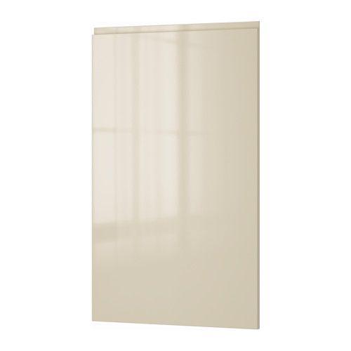 VOXTORP Anta, lucido beige chiaro lucido beige chiaro 60x100 cm