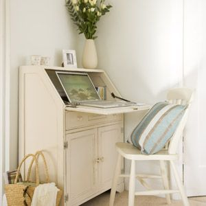 Transform a second-hand bureau Upcycle love Your Home http://pinterest.com/incredibleoop/