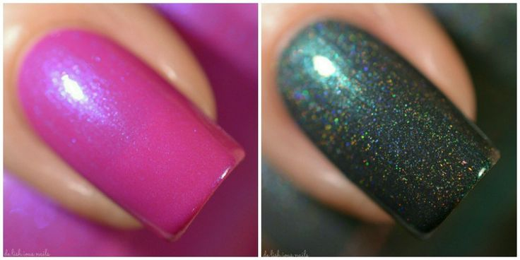 Girly Bits shop exclusives by Native War Paints. Swatches by de.lish.ious nails. Launching Feb 17 at www.girlybitscosmetics.com
