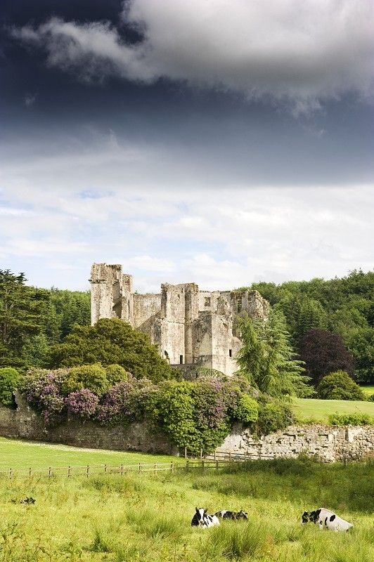 Old Wardour Castle - Wiltshire, England, built in 1392