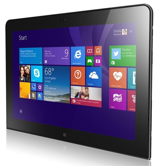 Lenovo Unveiled 10-inch Windows Tablet ThinkPad 10 -  [Click on Image Or Source on Top to See Full News]
