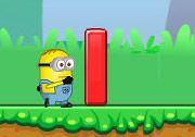 Çılgın Hırsız Zıplama (Minion Jump Adventure) oyununda sevimli karakterin engellerin sonunda bulunan bitiş çizgisindeki siyah beyaz bayrağa ulaşmasını gerçekleştirmelisiniz. http://www.3doyuncu.com/cilgin-hirsiz-ziplama/