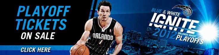 The Orlando Magic are in the Playoffs! We believe in Magic!