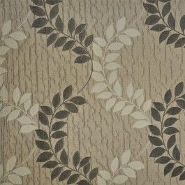 Christelle Praline   Neutral Leaf Drapery Fabric By Charles Parsons  Interiors #charlesparsonsinteriors #fabric #