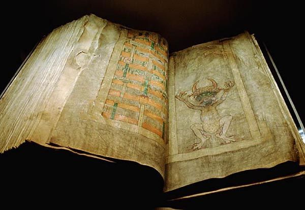 """It's a mysterious book that in itsday was believed to contain all human knowledge. But why did medieval people believe that the author sold his soul to the devil to be able to write it? The """"Devil..."""